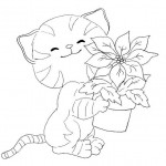 Kids Printables Cat Coloring Page Activity