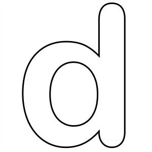 Letter d Coloring Pages Printable – Color On Pages ...