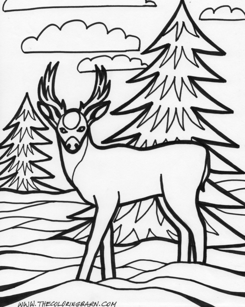 Page Holiday Coloring Pages Color Plate Sheet Printable