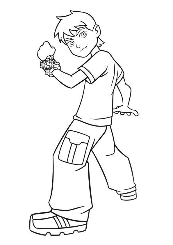 Image result for Ben 10 Omniverse Coloring Pages | Coloring pages ... | 842x595