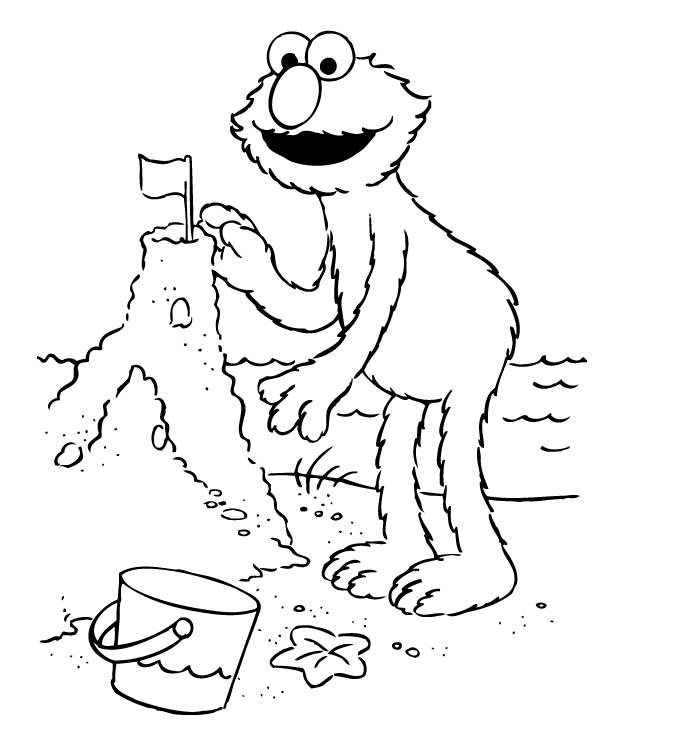 Elmo Coloring Pages Free – Color On Pages: Coloring Pages for Kids