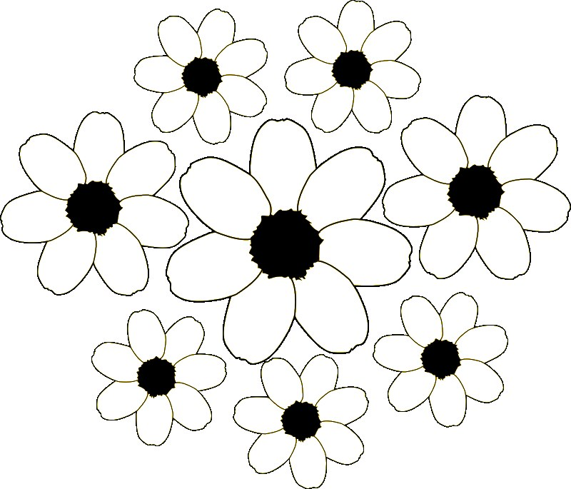 pictures of fall flowers to color color on pages coloring pages