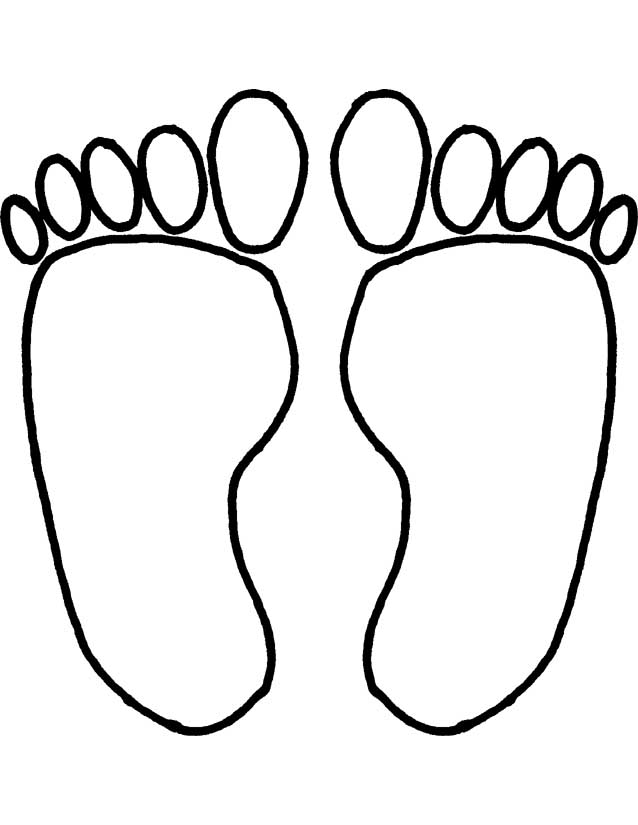 Posts related to feet footprints coloring pages printable