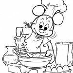 Fun Baking Coloring Pages For Kids
