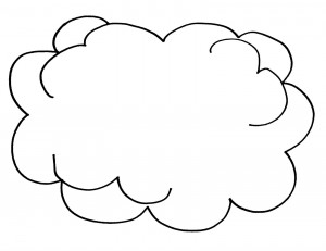 top 10 printable rain coloring pages coloring page rainbow clouds - Coloring Page Rainbow Clouds