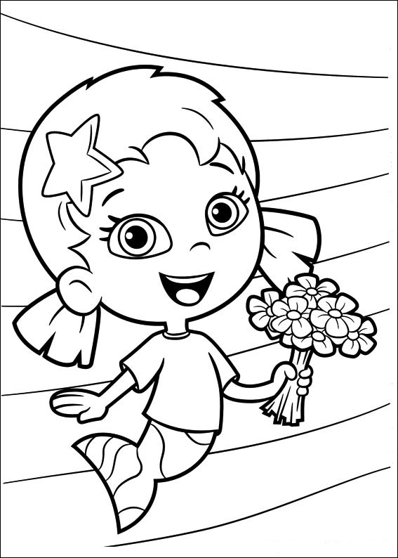 baby guppies coloring pages - photo#26