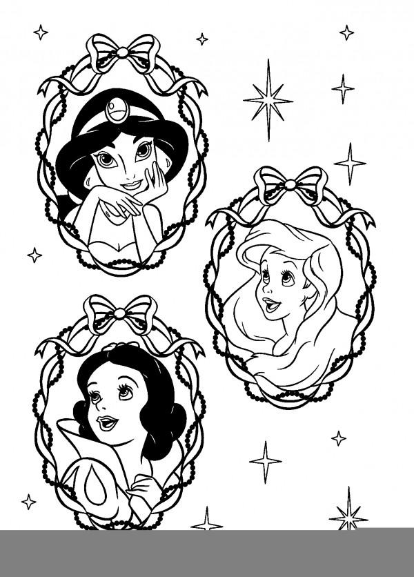 Disney princess christmas coloring pages color on pages for Disney princess christmas coloring pages printable