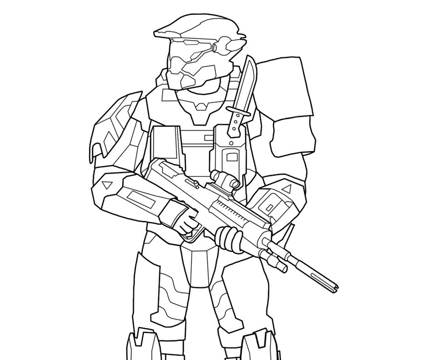 spartan coloring pages - photo#24