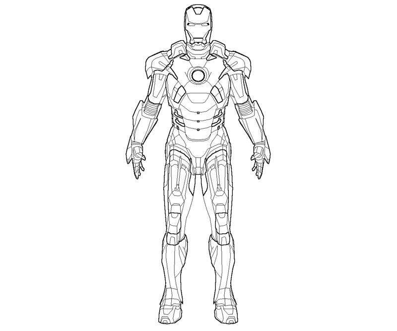 Iron man coloring pages online color on pages coloring for Free coloring pages iron man