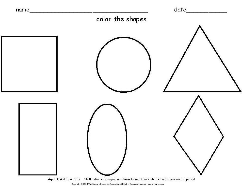 circle coloring page 1  Crafts and Worksheets for