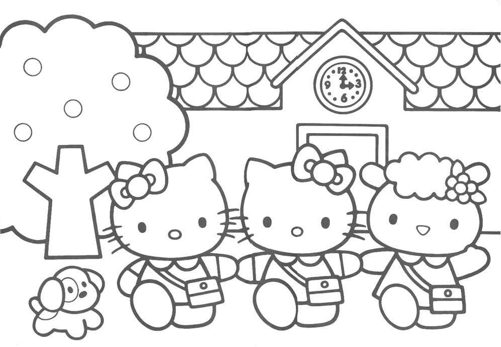 Coloring-Pages-Hello-Kitty
