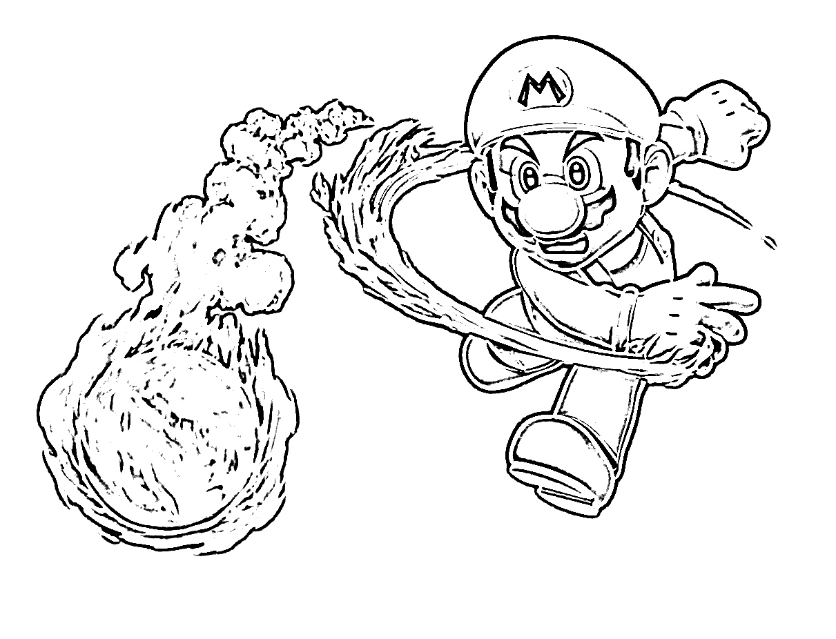 mario bros mad u2013 color on pages coloring pages for kids