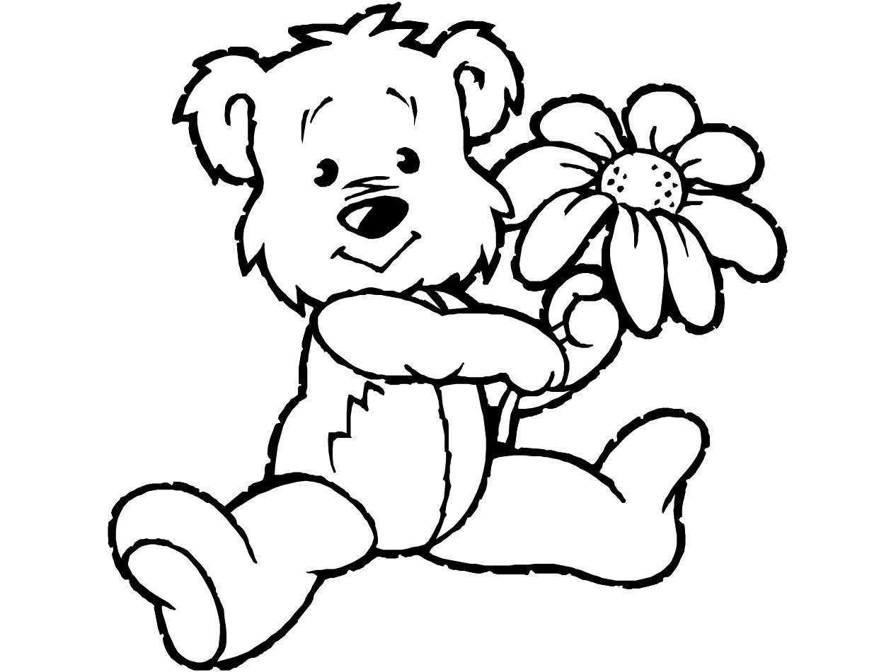 bear coloronpages